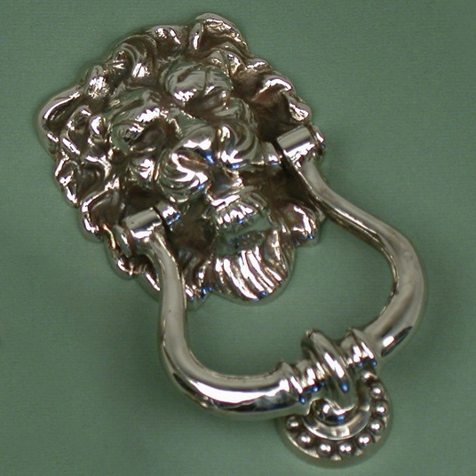 Nickel Lions Head Knocker £60