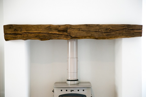 Oak Mantle Beam