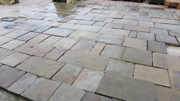 Reclaimed Yorkstone Patio Flags