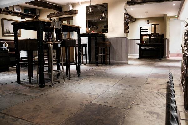 Yorkstone Floor