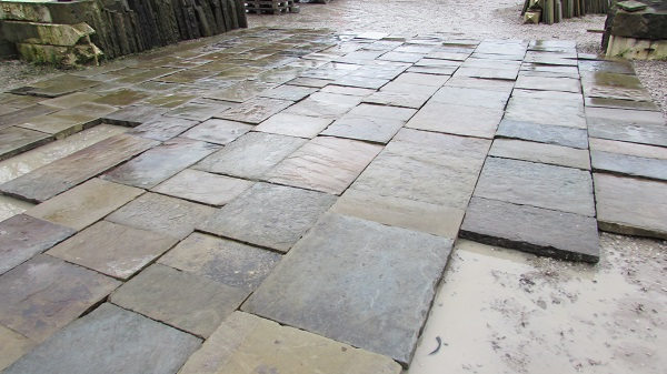Reclaimed York Stone Flags