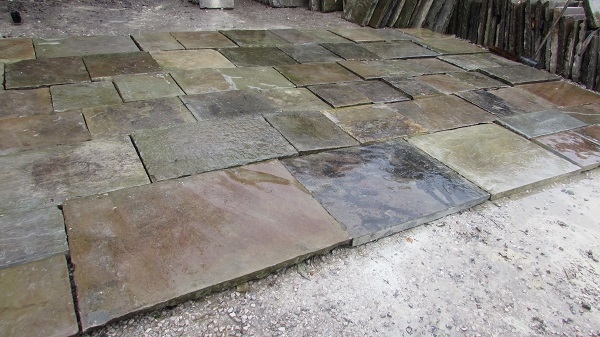 Reclaimed Yorkstone Patio