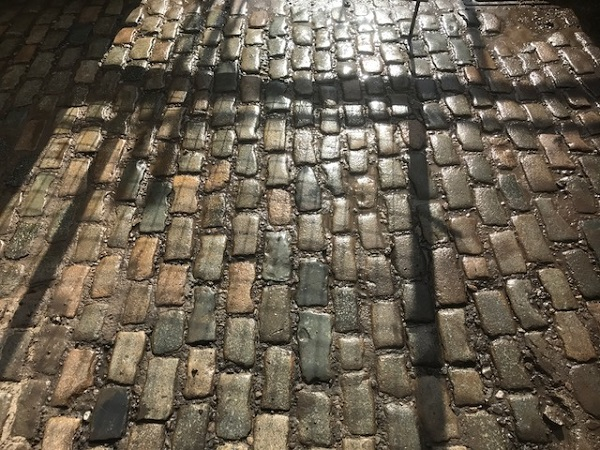 New In: Multi coloured granite setts